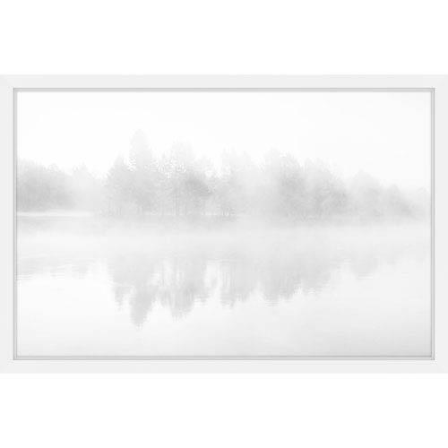 Parvez Taj Icy Reflections 18 x 12 In. Framed Painting Print