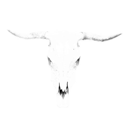 Parvez Taj Bleached Horns 48 In. Painting Print on Wrapped Canvas