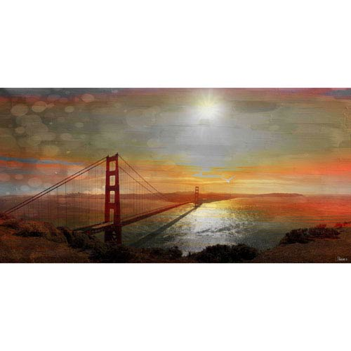 Parvez Taj Frity 24 x 12 In. Painting Print on Wrapped Canvas