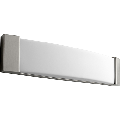 Oxygen Lighting Apollo Satin Nickel 25-Inch Two-Light Bath Vanity