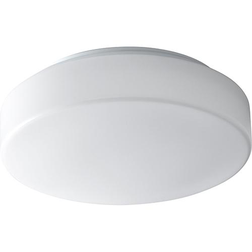 Oxygen Lighting Rhythm White One-Light Flush Mount