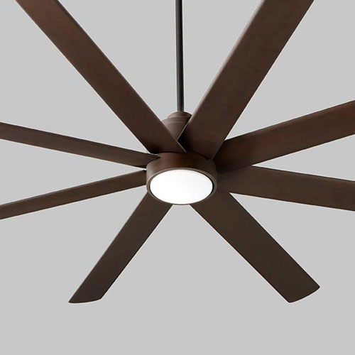 Cosmo Oiled Bronze 70-Inch Ceiling Fan