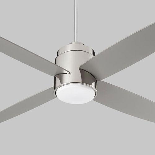 Oslo Polished Chrome 52-Inch Ceiling Fan