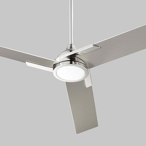 Coda Polished Chrome 56-Inch Ceiling Fan