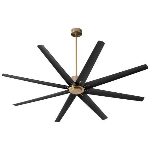 Fleet Aged Brass 72-Inch Ceiling Fan