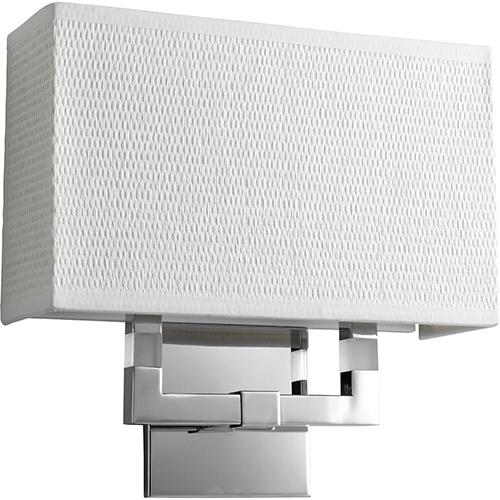 Oxygen Lighting Chameleon Polished Chrome One-Light LED Wall Sconce