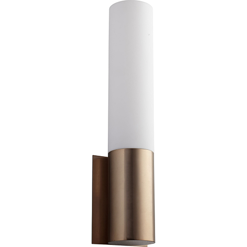 Magnum Satin Copper One-Light LED Wall Sconce