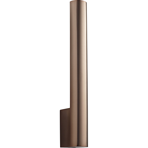Mies Satin Copper One-Light LED Wall Sconce