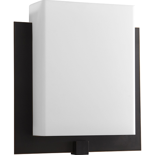 Pathways Old World One-Light LED Wall Sconce with Matte White Shade