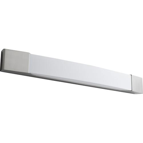 Apollo Satin Nickel 28-Inch Two-Light LED Bath Vanity