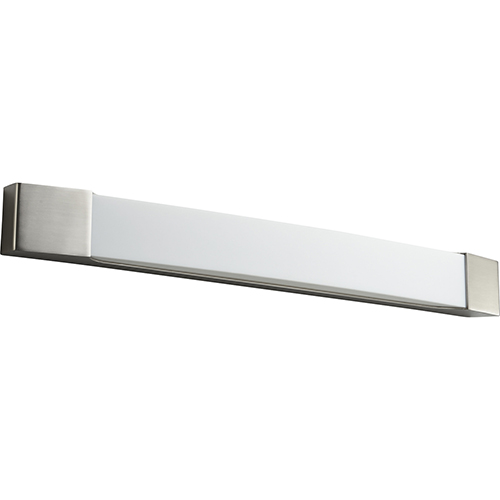 Apollo Satin Nickel 32-Inch Two-Light LED Bath Vanity