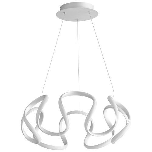 Cirro Silver Graphite LED Chandelier
