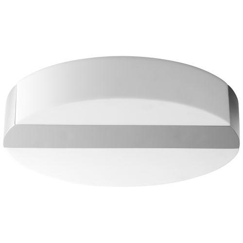 Aurora Polished Nickel LED Flush Mount