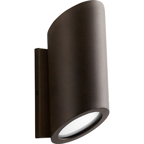 Realm Oiled Bronze Two-Light LED Outdoor Wall Mount