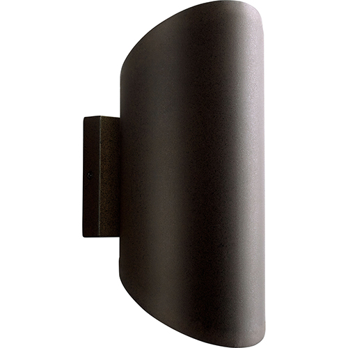 Scope Oiled Bronze Two-Light LED Outdoor Wall Mount