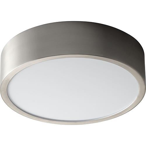 Peepers Satin Nickel One-Light LED 120V/277V Flush Mount