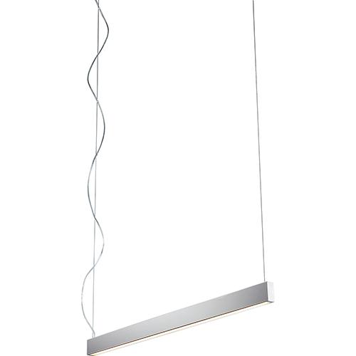 Zepp Polished Nickel One-Light LED 120V/277V Linear Pendant