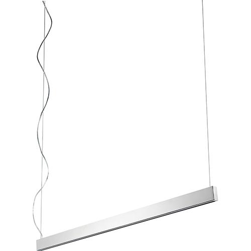 Zepp Polished Nickel Two-Light LED 120V/277V Linear Pendant