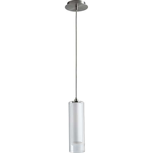 Gratis Satin Nickel One-Light LED 277V Mini Pendant