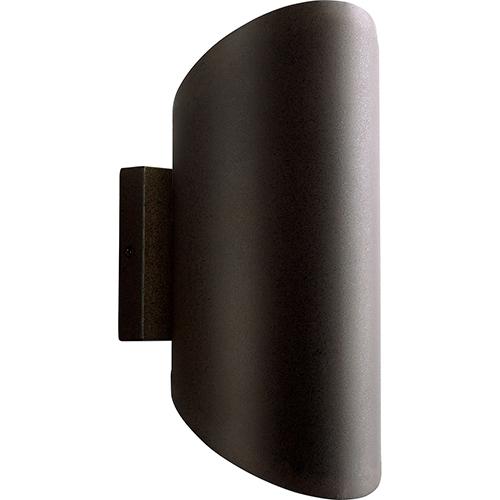 Oxygen Lighting Scope Oiled Bronze Two-Light LED 277V Outdoor Wall Mount