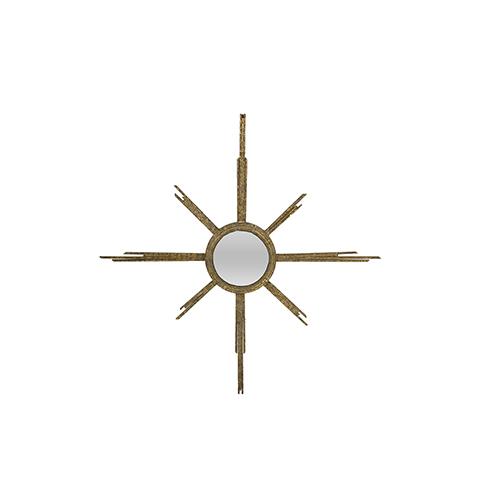 Capri Antique Gold 36-Inch Mirror