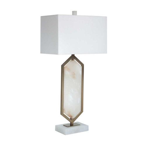 Braden Antique Brass One-Light Table Lamp