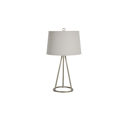 Farrah Champagne Silver One-Light Table Lamp