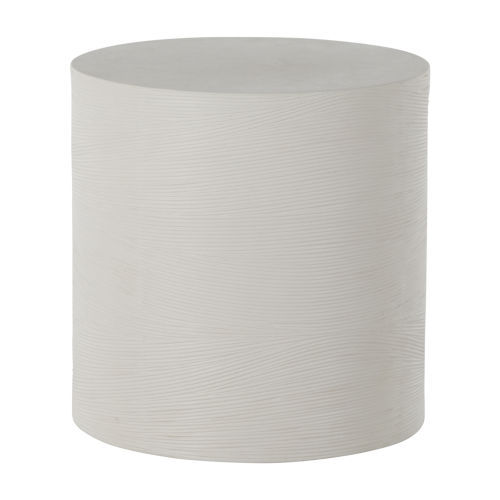 Caraway White Side Table