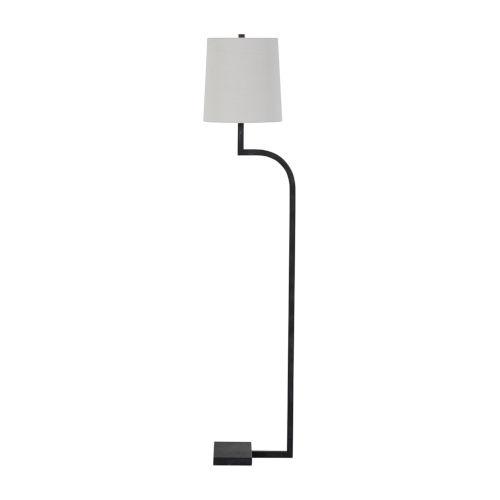 Howard Rusty Black One-Light Floor Lamp