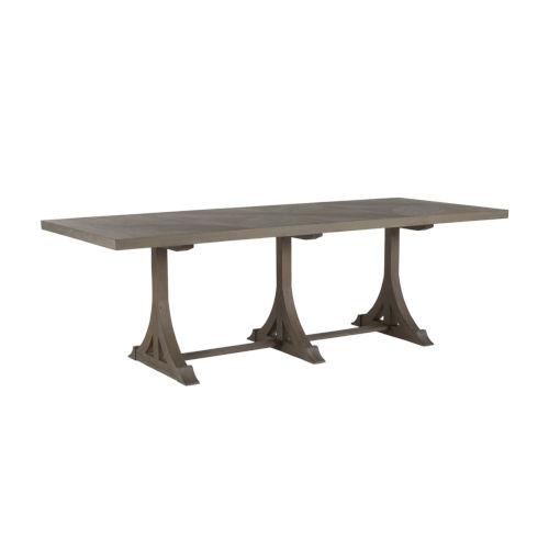 Adams Vintage Gray Dining Table