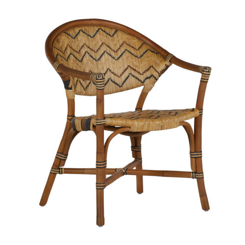 Emmett Natural and Black Dining Chair