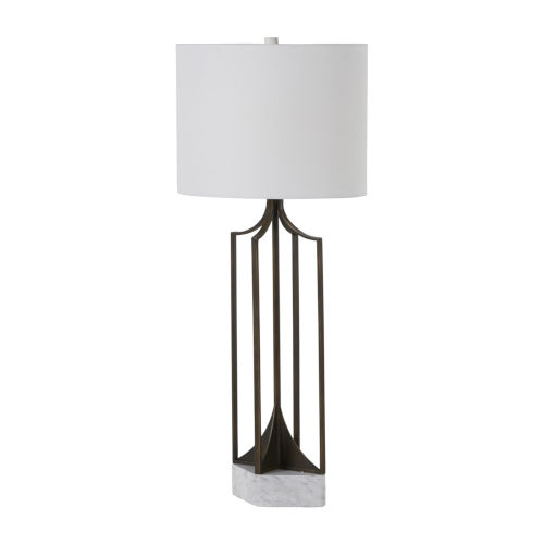 Ollie Brushed Copper One-Light Table Lamp