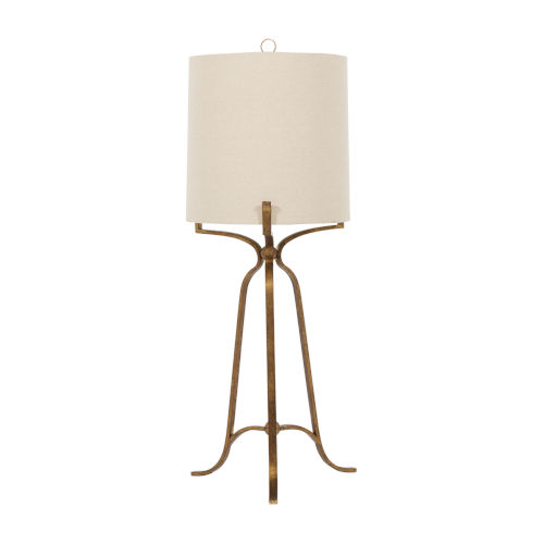 Evie Ashwell Gold One-Light Table Lamp