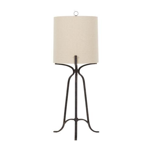 Elena Antique Bronze One-Light Table Lamp