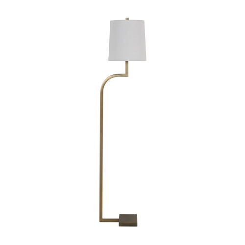 Hawthorn Matte Antique Brass One-Light Floor Lamp