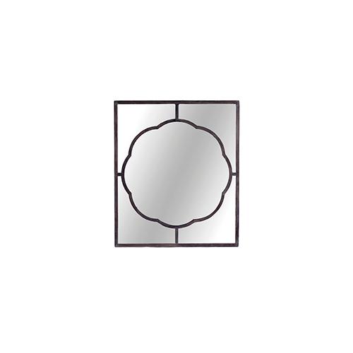 Dupont Black Iron 37-Inch Mirror