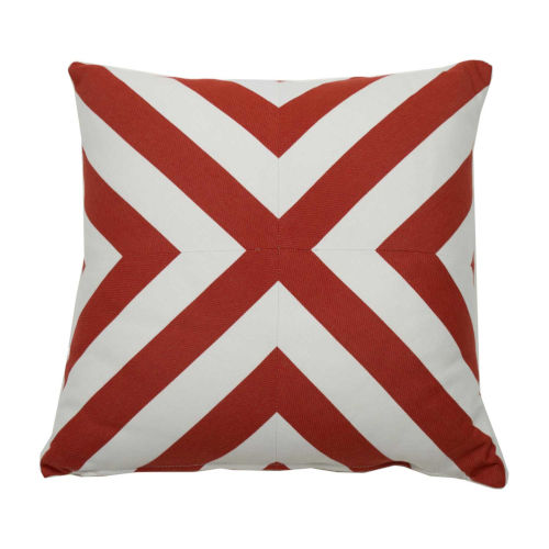 Wendy Jane Halo Cajun 20 X 20 Inch X Stripe Pillow With Knife Edge G102 100182 Bellacor
