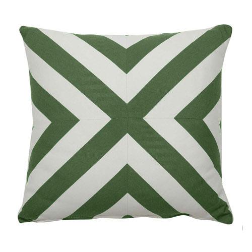 Halo 20-Inch Emerald Throw Pillow