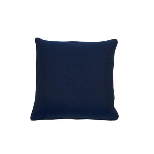 Molto Medallion 20-Inch Mustard and Indigo Throw Pillow