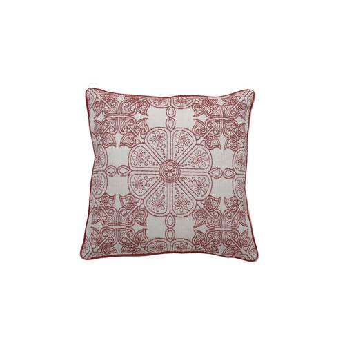 Cape May Garden 22-Inch Cajun Throw Pillow