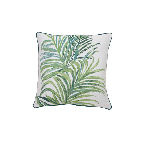Tropico 22-Inch Emerald and Reef Throw Pillow