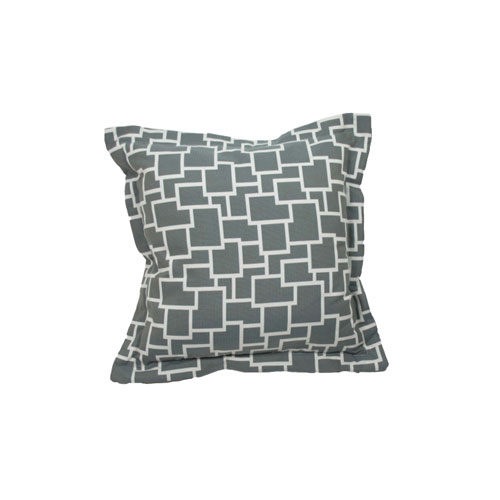 Magnitude 22-Inch Mist Throw Pillow
