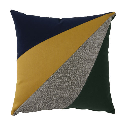 Rays Sunrise Multicolor 22 x 22 Inch Pillow with Knife Edge