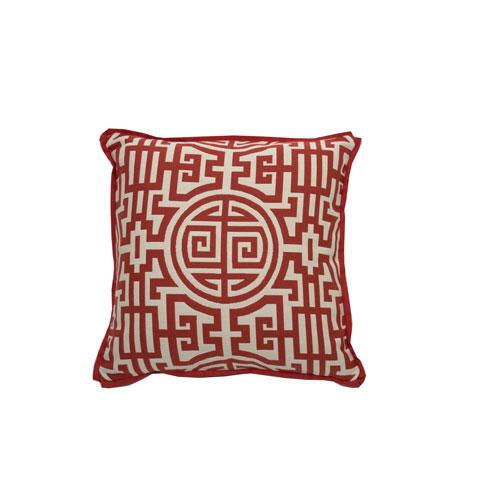Nobu 24-Inch Cajun Printed Throw Pillow