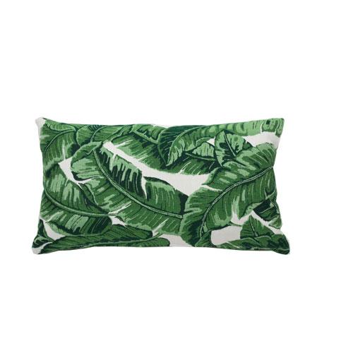 Tropics 24-Inch Emerald Throw Pillow