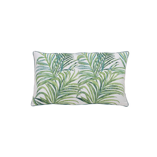 Tropico 24-Inch Emerald and Reef Small Throw Pillow