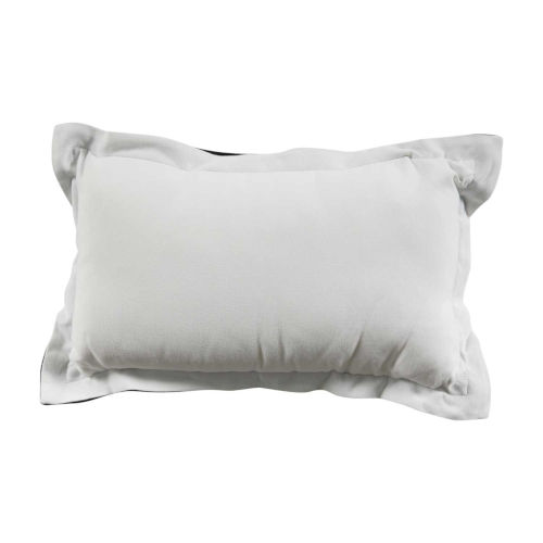 Snow 14 x 24 Inch Pillow with Double Flange