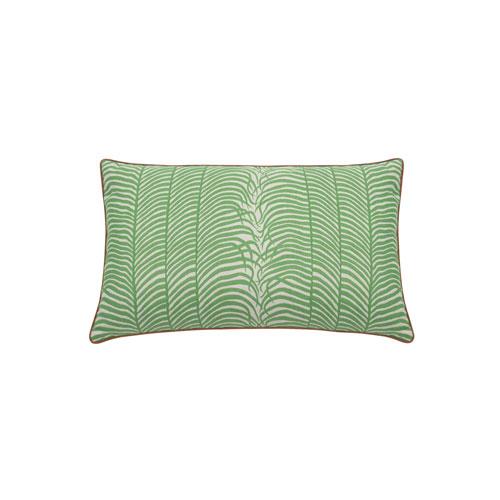 Summer Sulu 24-Inch Emerald Throw Pillow