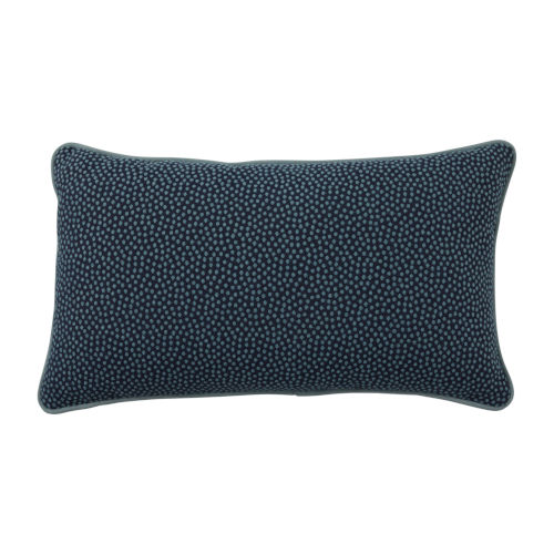 Mist 14 x 24 Inch Pillow with Velvet Welt
