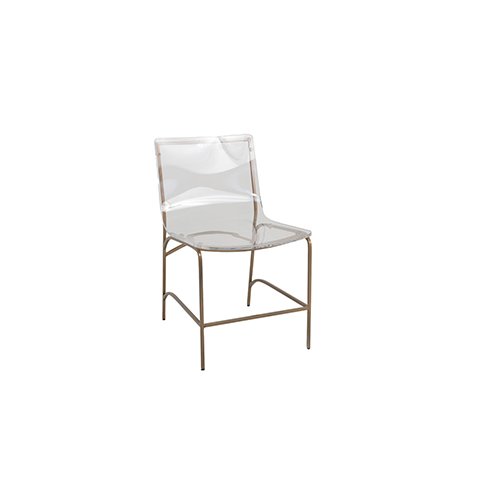 Gabby Home Penelope Antique Gold  Dining Chair